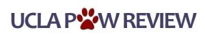 Logo for the UCLA Paw Review
