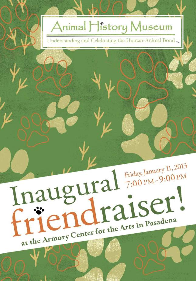 AHM friendraiser announcement
